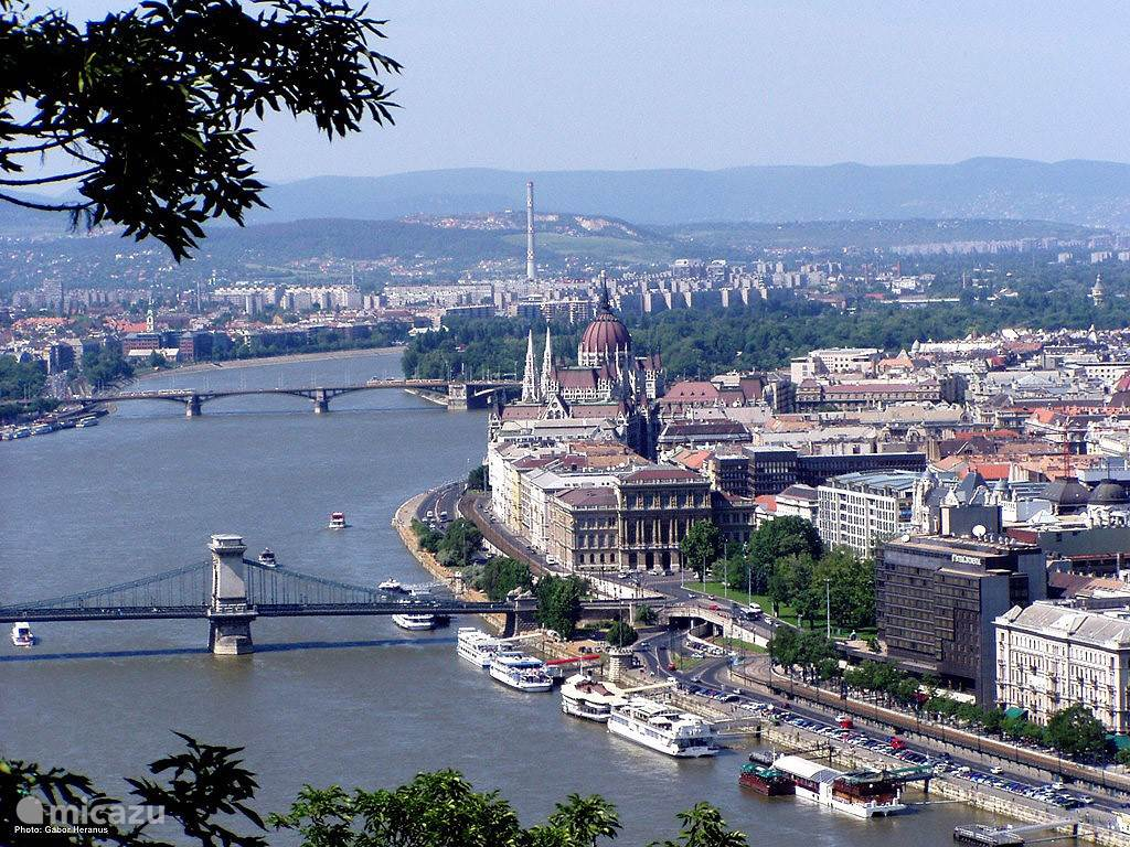 The beautiful capital Budapest