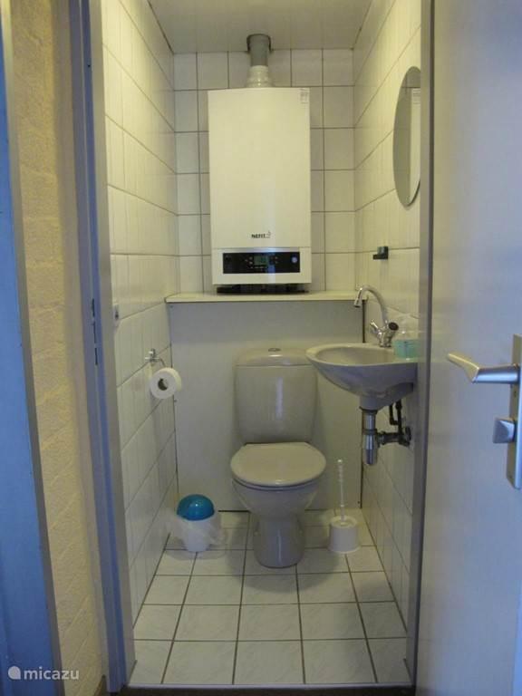 Toilet op bovenverdieping
