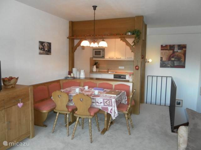 Dining Area Apartment Alpenroos