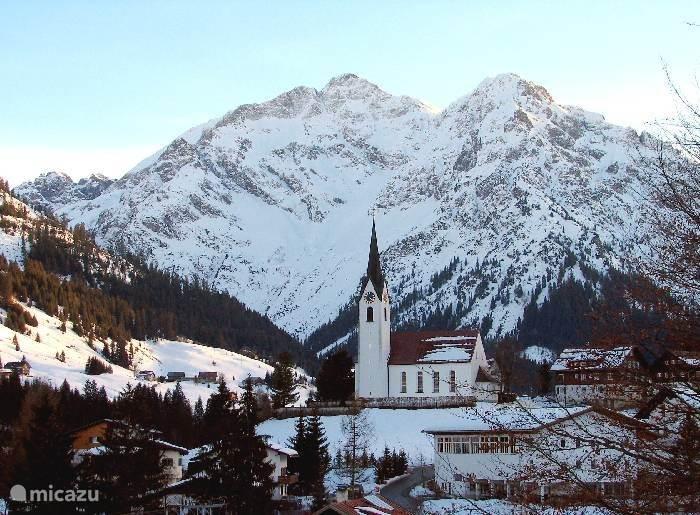 Mittelberg village