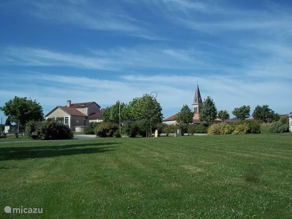 Het karakteristieke dorp Bourrou.