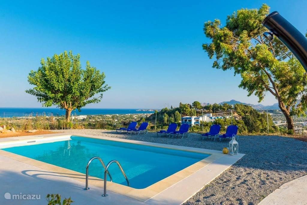 Vakantiehuis Griekenland, Rhodos, Afandou villa Hill Top Villa