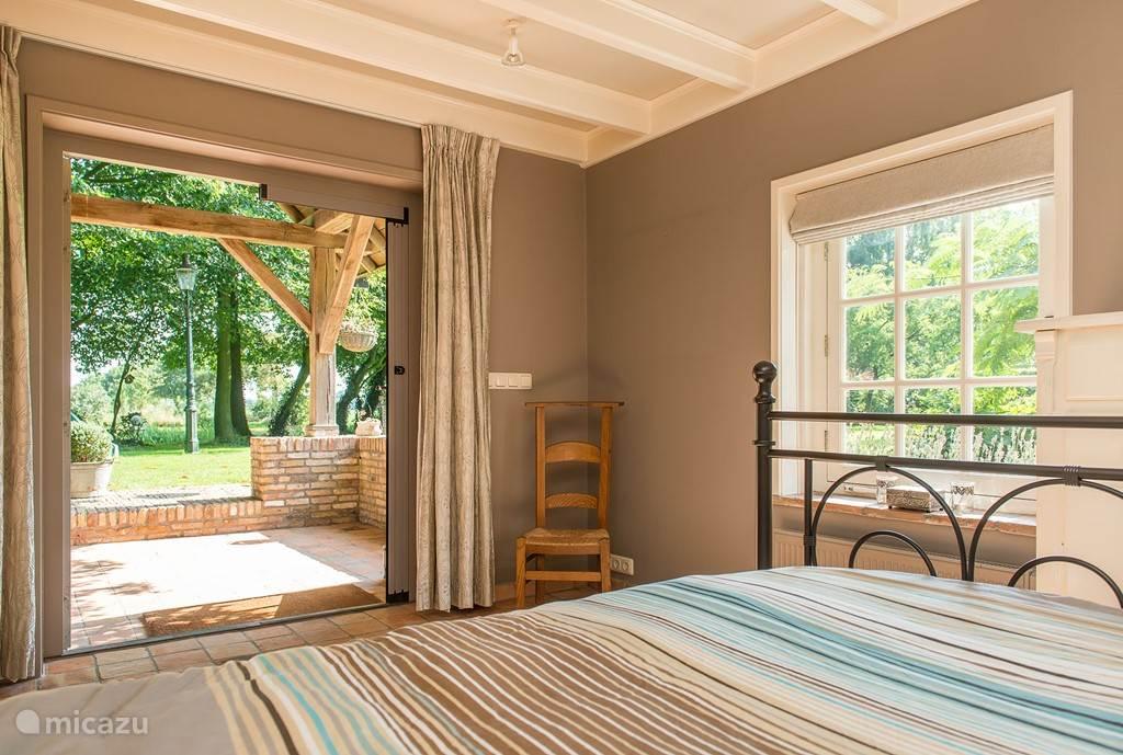 of juist een luxe slaapkamer,