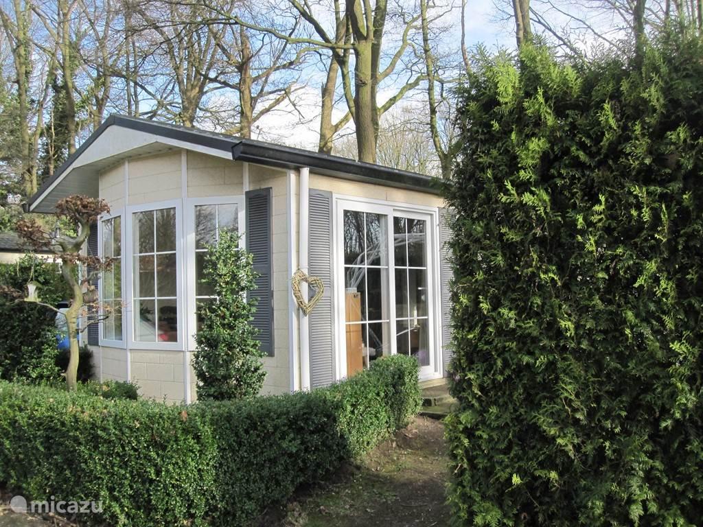 Vakantiehuis Nederland, Gelderland, Wageningen chalet Vakantiewoning Veluwe