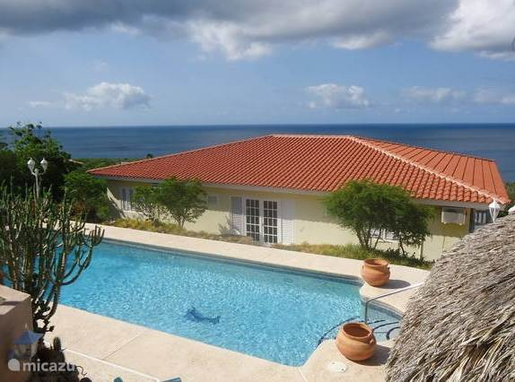 Vacation rental Curaçao, Banda Abou (West), Cas Abou villa Caribbean Blue Sea villa