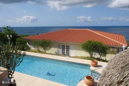 Vakantiehuis Curaçao, Banda Abou (west), Cas Abou villa Caribbean Blue Sea villa