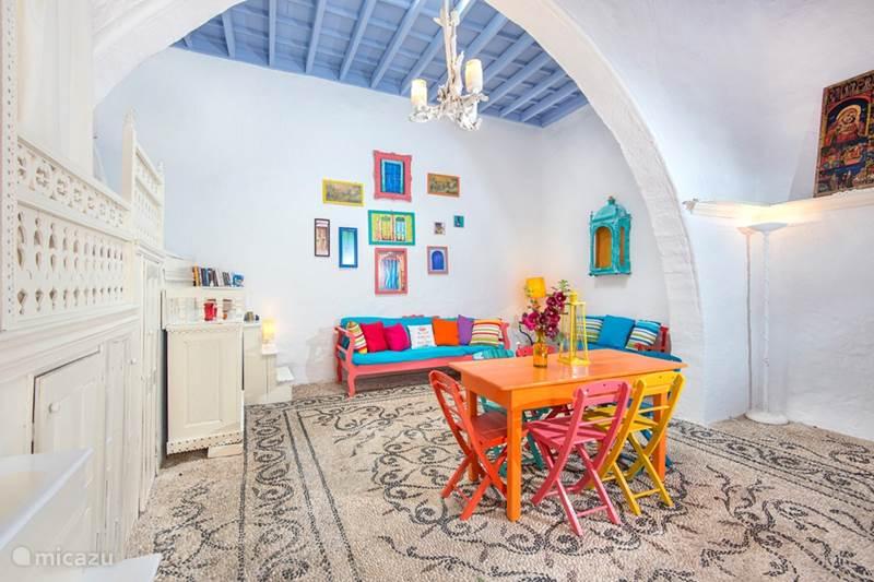 Vakantiehuis Griekenland, Rhodos, Koskinou Vakantiehuis Gremos, traditioneel stone dorphuis