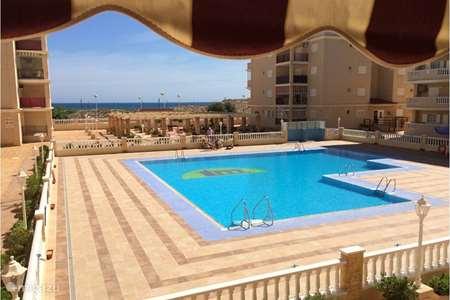 Vakantiehuis Spanje, Costa Blanca, La Mata appartement La Mata Viñamar 7 frontaal zeezicht