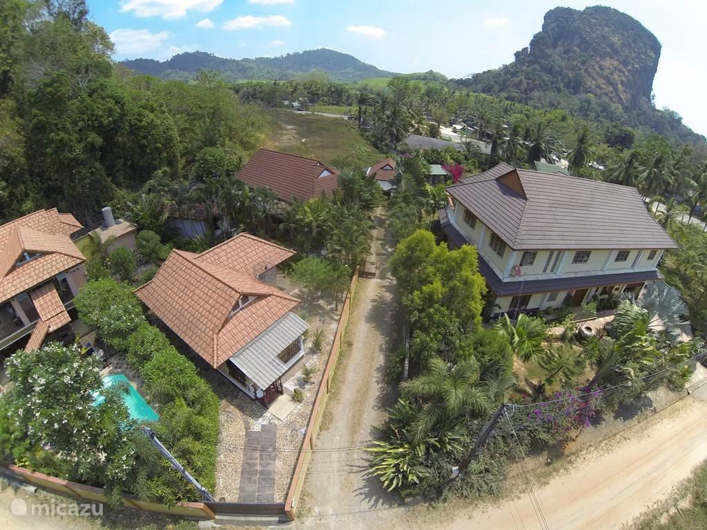 Vakantiehuis Thailand, Zuid Thailand, Krabi - vakantiehuis Baan Fasai