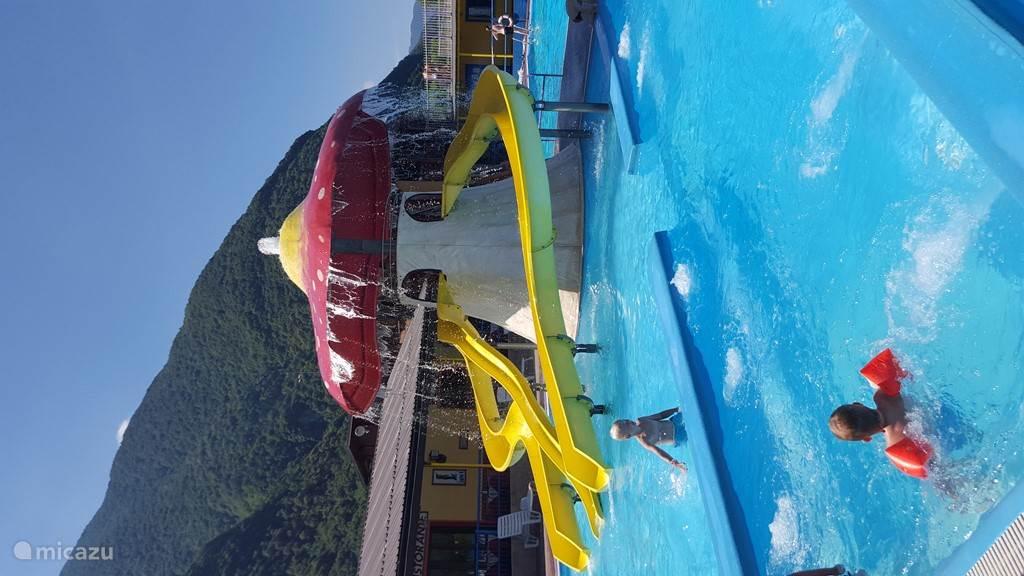Zwembad in Porlezza