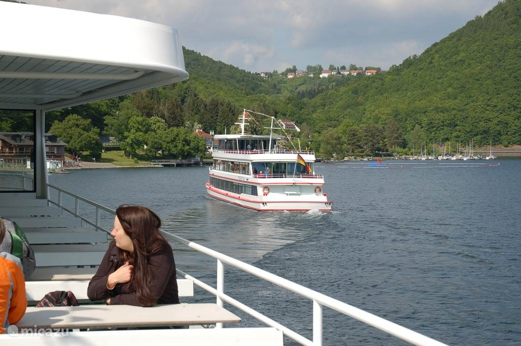 Boat trip on the Edersee