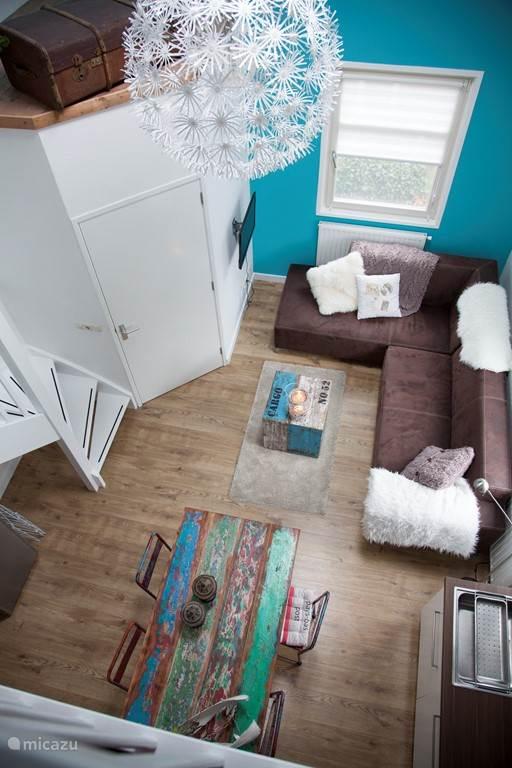 woonkamer vanaf vide