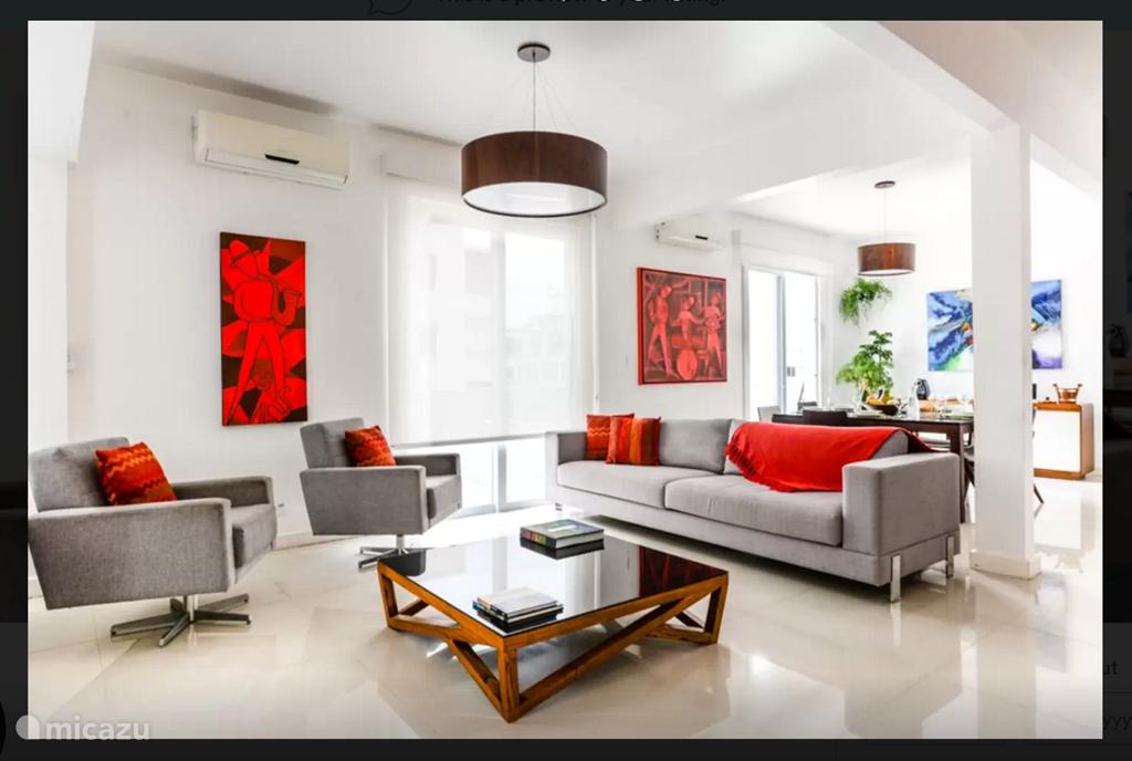 Vakantiehuis Brazilië, Kuststreek, Rio De Janeiro Appartement New! Lux 3kmr STRAND APP Copacabana!