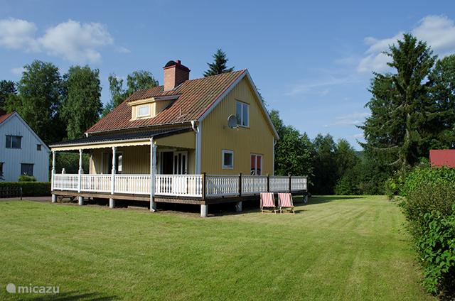 Vakantiehuis Zweden, Värmland, Munkfors Vakantiehuis Gele woning
