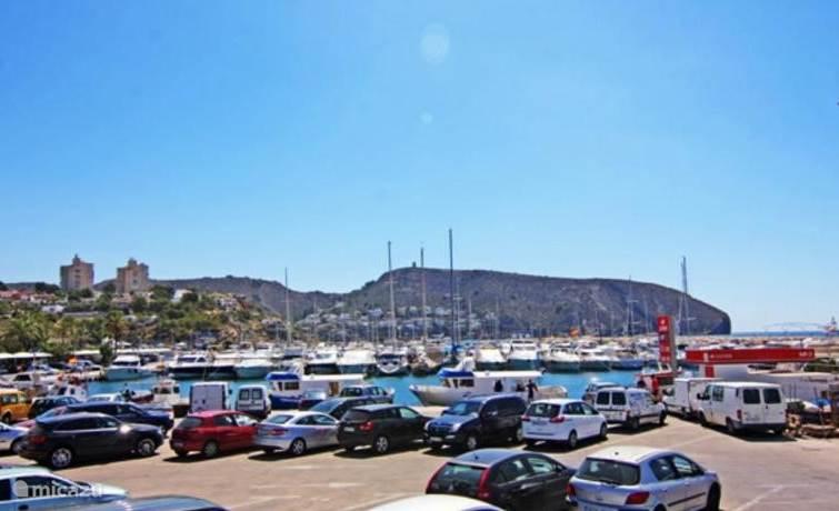de haven van Moraira