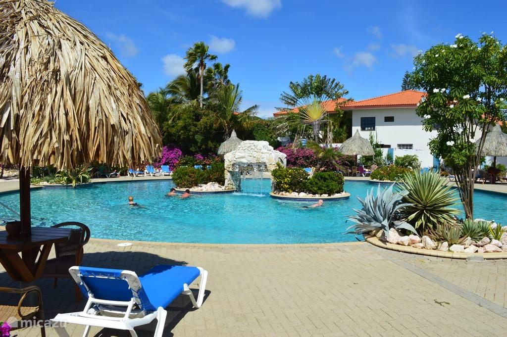 Vakantiehuis Curacao, Curacao-Midden, Koraal Partier Studio Studio Tiki Bar