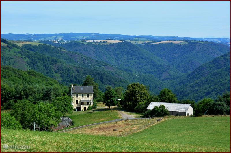 Vakantiehuis Frankrijk, Aveyron, Grand-Vabre Boerderij Gîte de la Roque