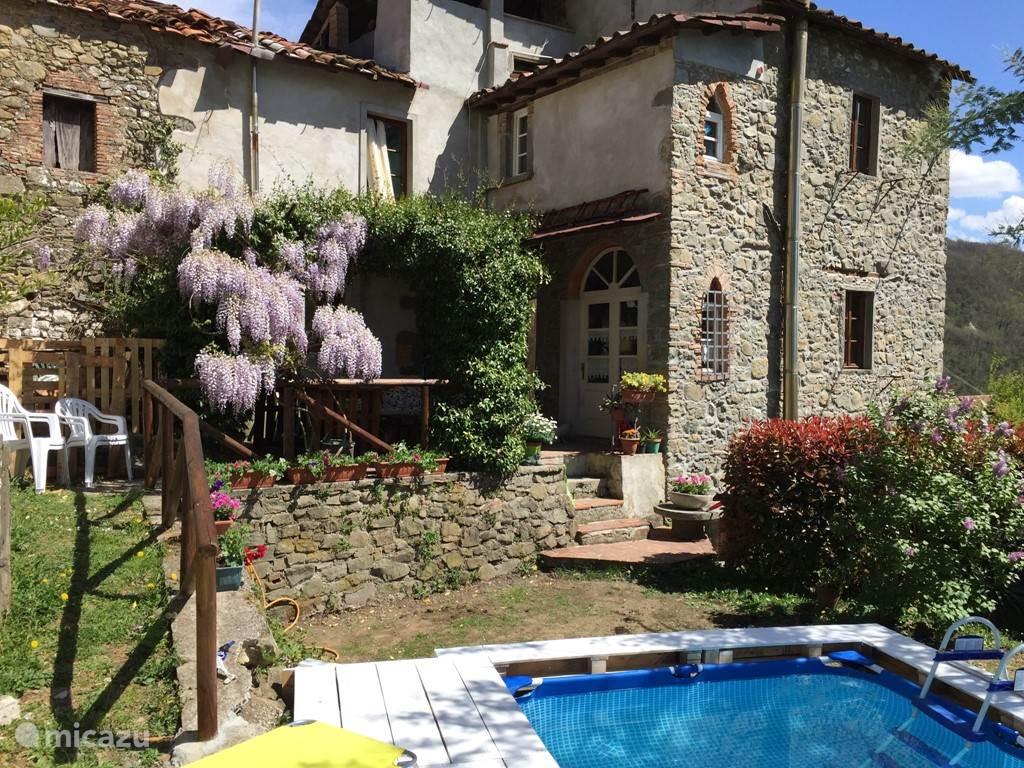 Vakantiehuis Italië, Toscane, Bagni di Lucca - villa Casa Mimi