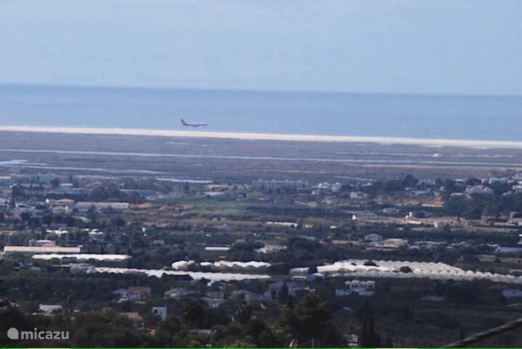 Uitzicht op baai van Faro