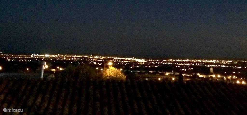 Uitzicht 's avonds