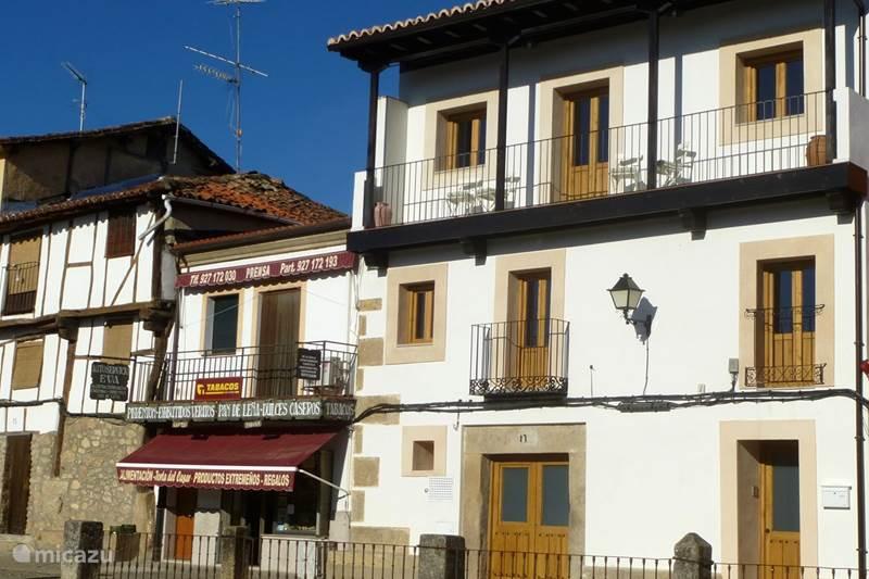 Vakantiehuis Spanje, Extremadura, Cuacos de Yuste Appartement Appartementen Entre Fuentes 2-6 pers