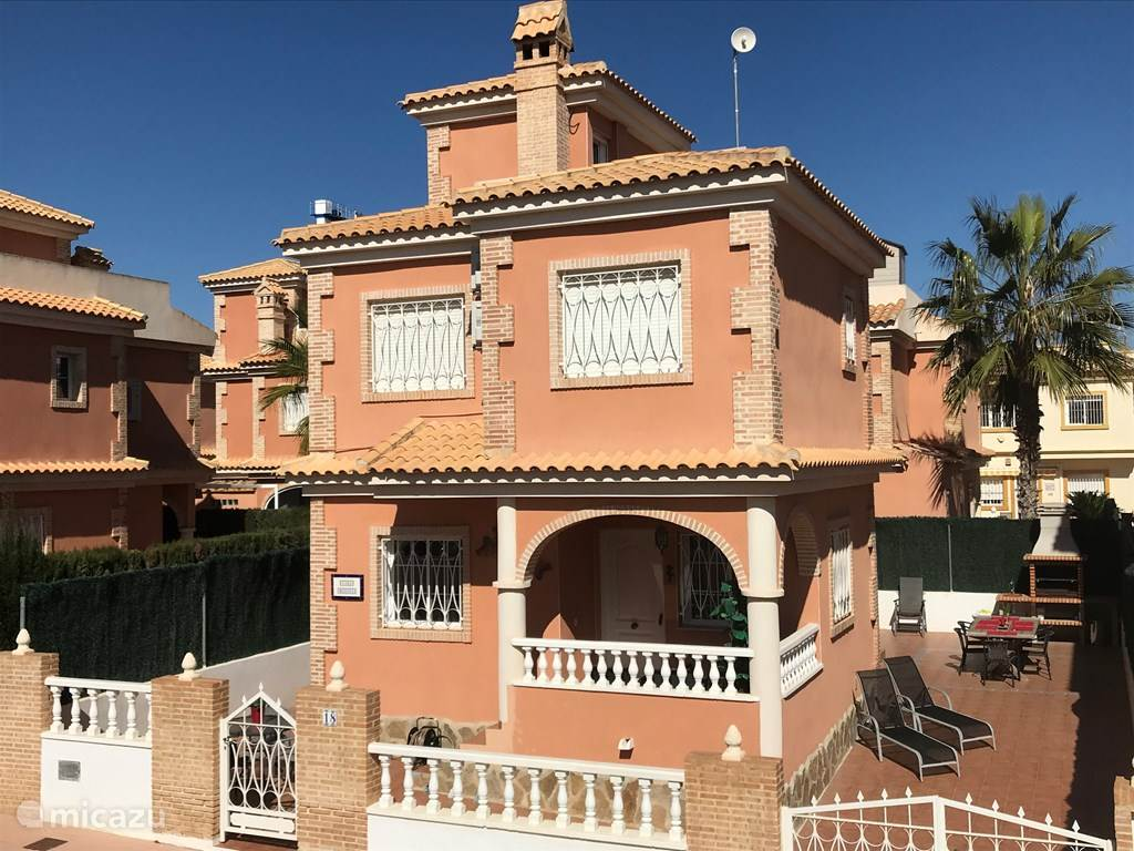 Vakantiehuis Spanje – villa Zon, zee en strand @ Casa Manada