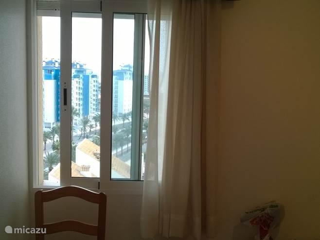 Uitzicht vanaf kamer 1
