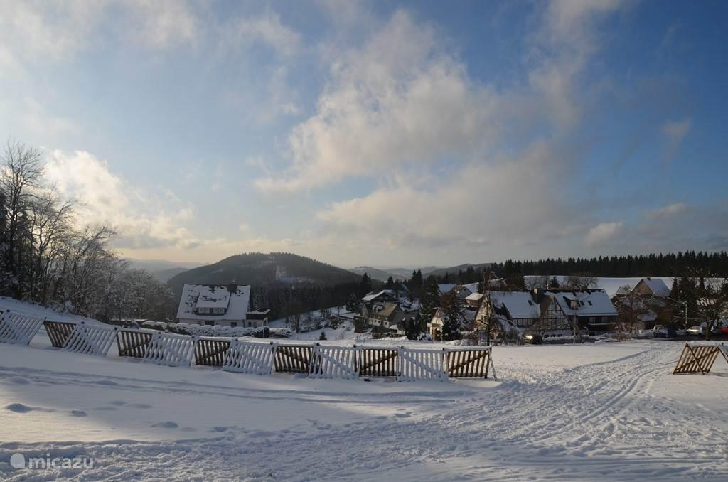 winter in Lenneplätze