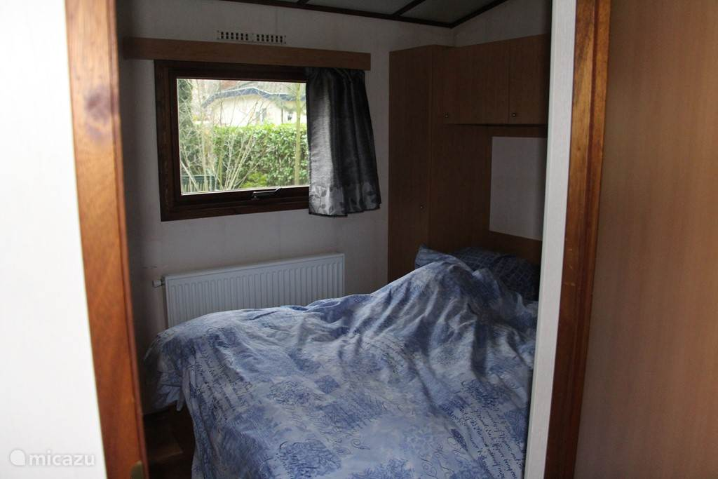 Grote slaapkamer. ( niet op de foto een tweede slaapkamer met 2 losse bedden.