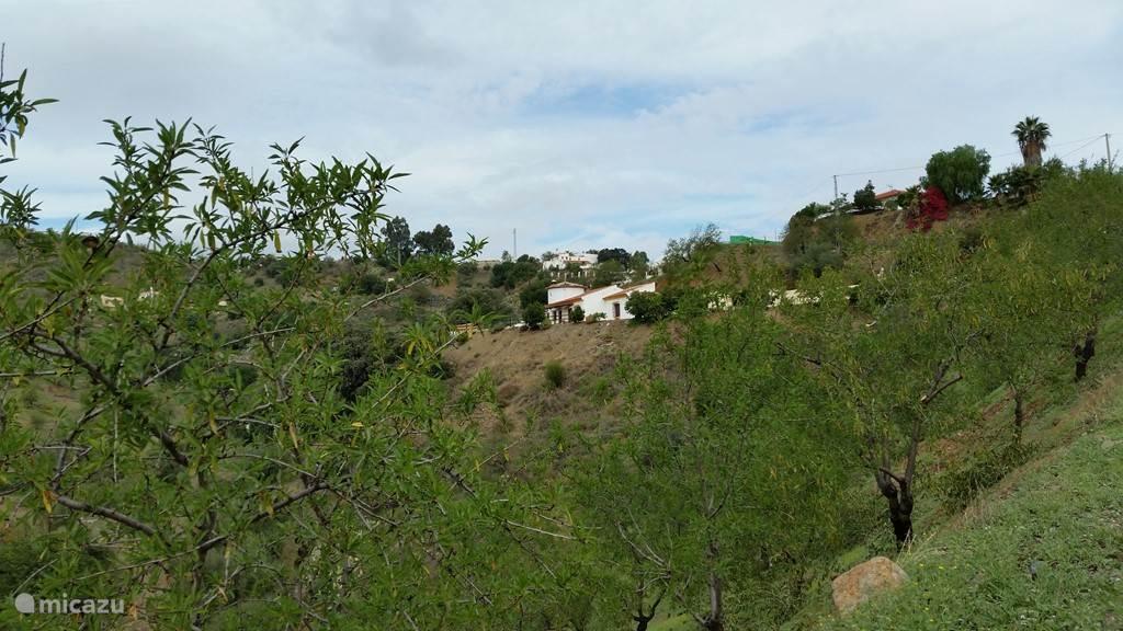 Casa Vaver vanaf de weg gezien.