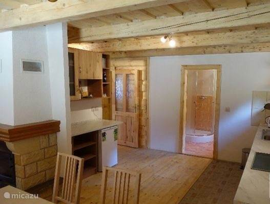 Keuken + badkamer beneden