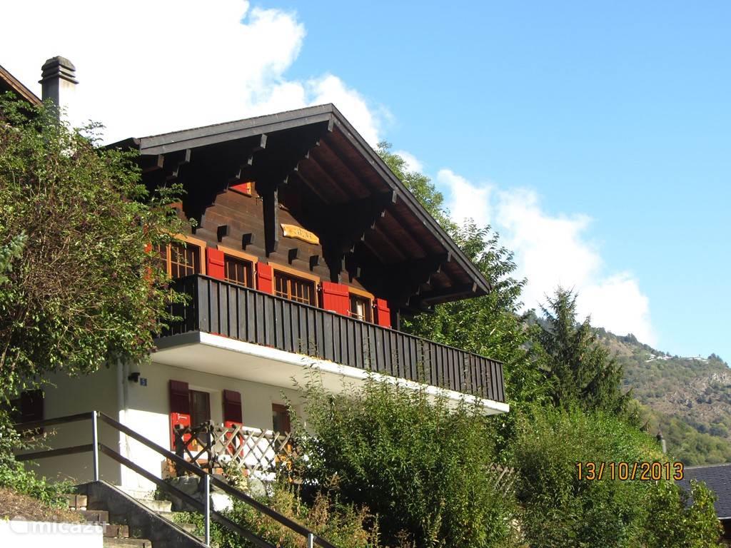 Vakantiehuis Zwitserland, Wallis, Mörel - chalet Chalet Carlina