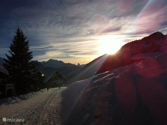 Op de Riederalp met de Matterhorn op de achtergrond