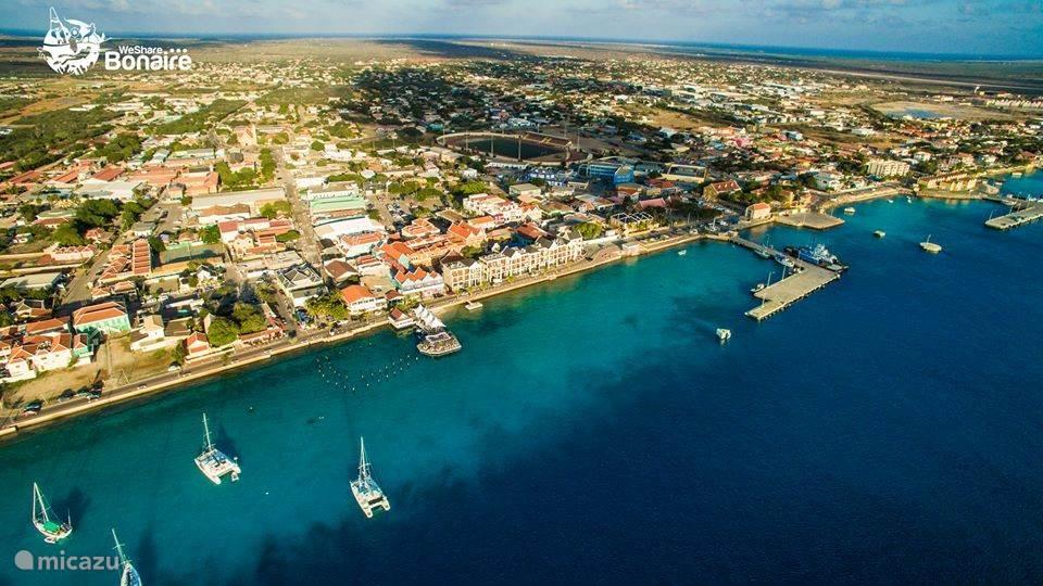 Der Hauptstadt von Bonaire Kralendijk