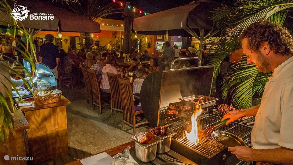 Specialiteiten in restaurant La Cantina