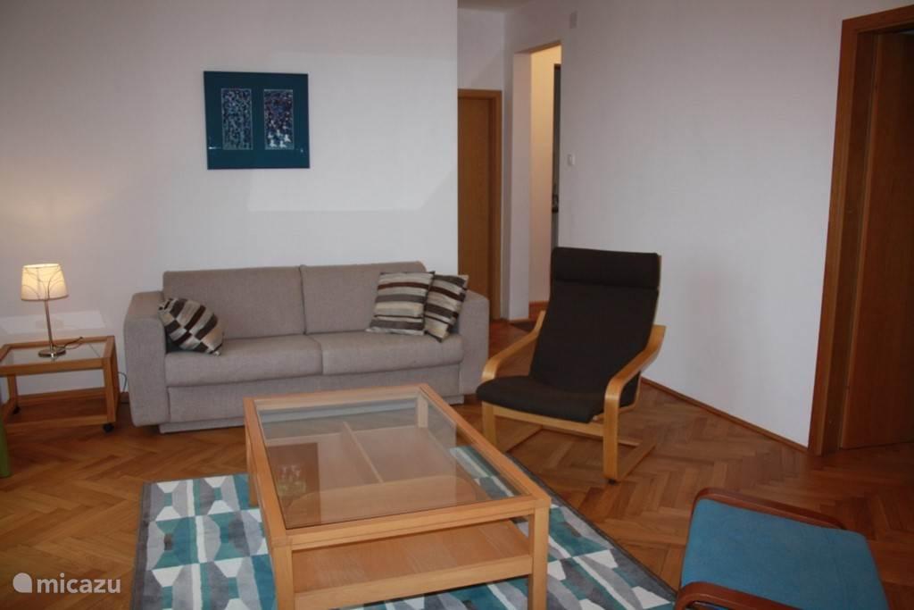 Woonkamer appartement 1. verdieping