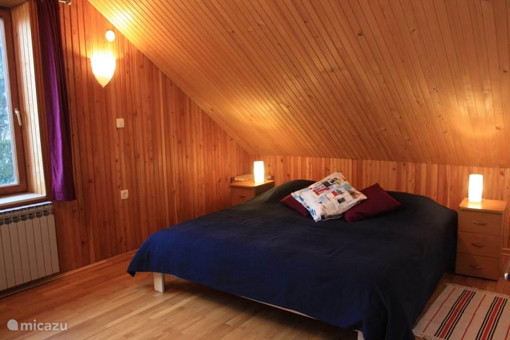 Slaapkamer zolderappartement