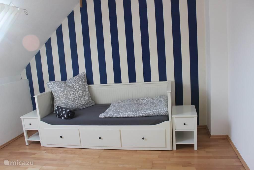 slaapkamer 4 met een/tweepersoonsbed