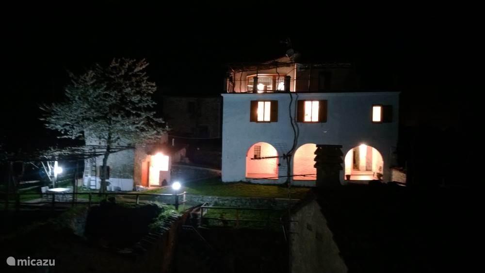 Casa Alice by night
