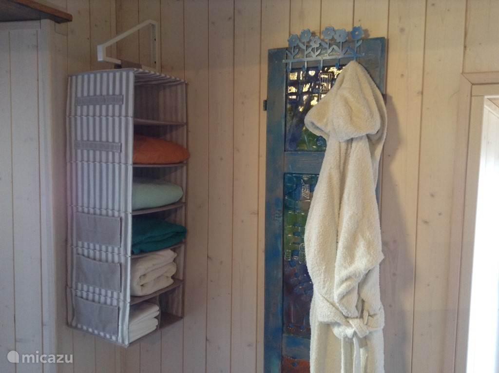 2e badkamer bij sauna