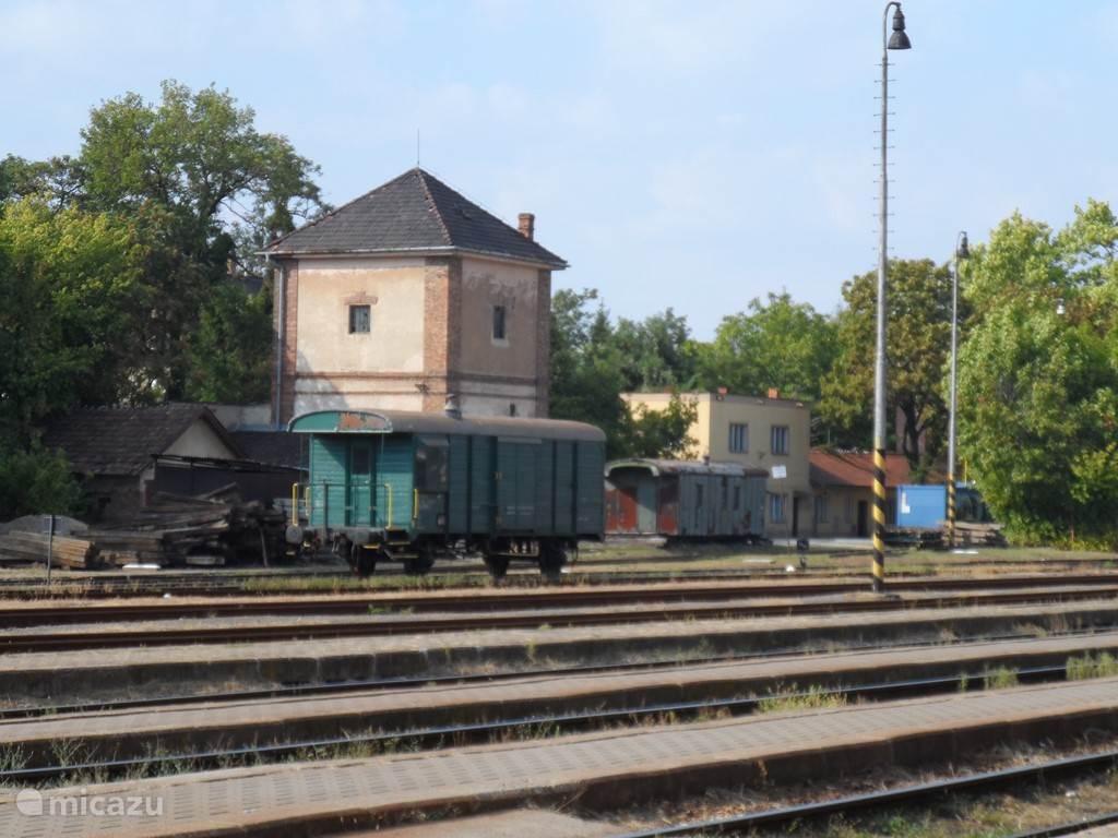 Mooie oude treinen  in   Nováky.