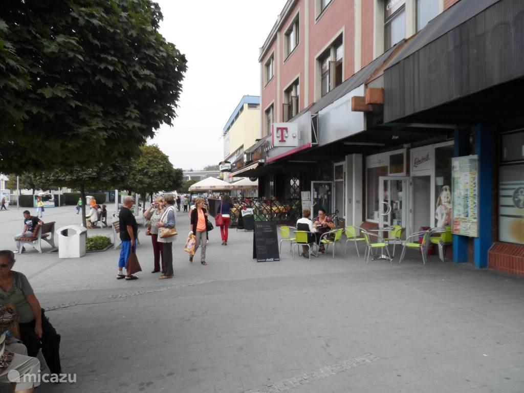 Lekker winkelen in de stad,op 10 km. afstand.