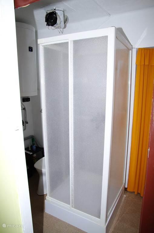 Douche boven verdieping
