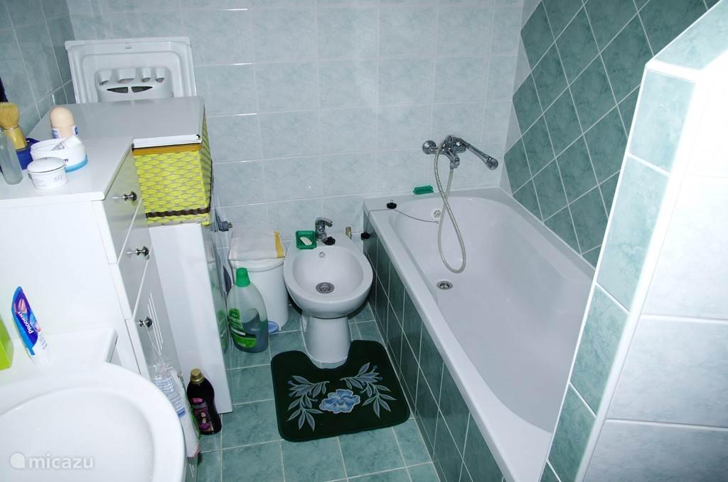 Badkamer beneden verdieping.