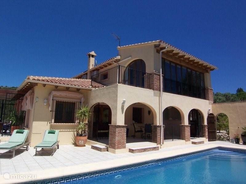 Vakantiehuis Spanje, Costa Blanca, Jalon - villa VillaToro