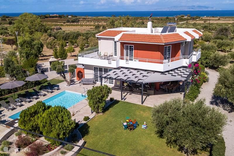 Vakantiehuis Griekenland, Rhodos, Fanes Villa Eleonas
