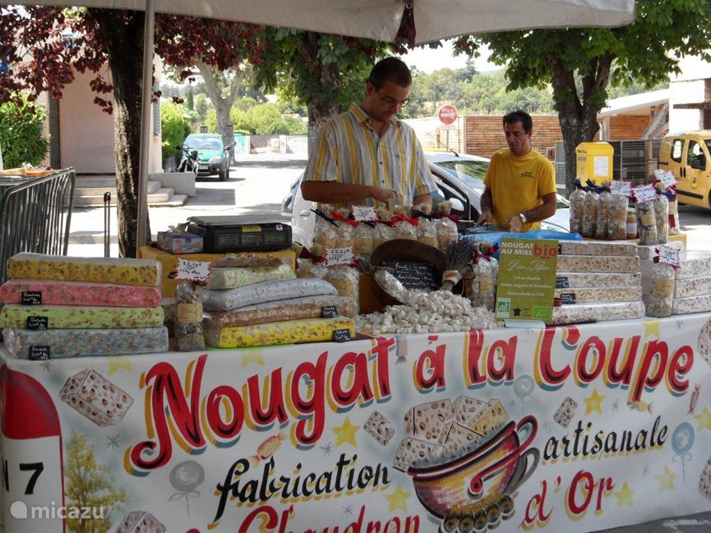 Nouga from Montelimar is a true specialty; You can also visit the factory.