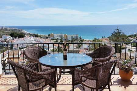 Vakantiehuis Spanje, Costa del Sol, Nerja geschakelde woning Huis met schitterend zeezicht
