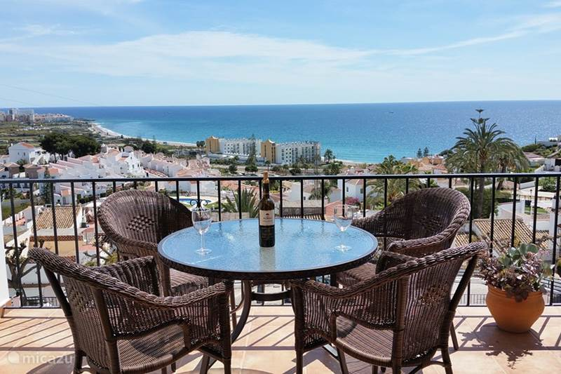 Rent House with stunning sea views in Nerja, Costa del Sol. | Micazu