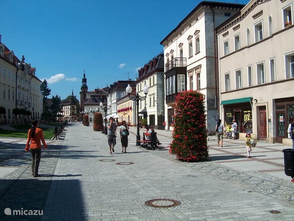 Cieplice is een van oorsprong statig plaatsje met een van de oudste kuuroorden van Polen. Tegenwoordig is het een buitenwijk van Jelenia Góra. Buiten het kuuroord en de winkels is er sinds een paar jaar een mooi zwembad verrezen met wellness faciliteiten
